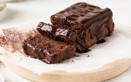 Gâteau au chocolat à la courgette, sans gluten et sans lactose
